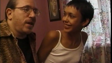 Hot young Tamara fucked by dirty old man