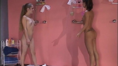 hot shower with Kate Kaptive and Serena South