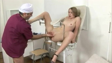 Hot young Merry fucked by dirty old doctor