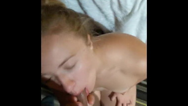 Blowjob amateur teen blonde from HOREReu