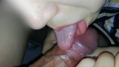 girl suck and lick dirty dick