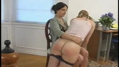 Babysitter Spanks and Gets Spanked