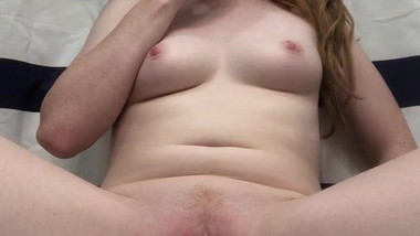 Redhead Slut begs to be exposed webslut for her dad