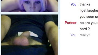 SPH webcam- Blonde lady is gutted for me small penis humilia