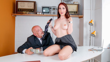 LETSDOEIT - Dirty German Babe Seduce And Fucks With Her Boss